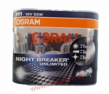 H1 OSRAM Night Breaker Unlimited +110% - 64150NBU-BOX