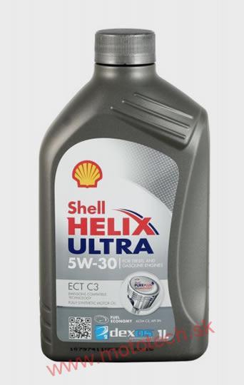 motorov olej shell helix ultra ect c3 5w 30 1 liter. Black Bedroom Furniture Sets. Home Design Ideas