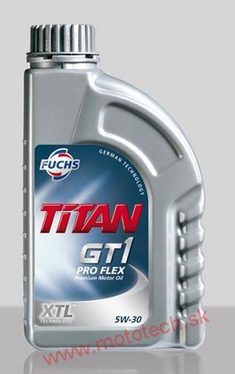 motorov olej fuchs titan gt1 pro flex 5w 30 1l. Black Bedroom Furniture Sets. Home Design Ideas