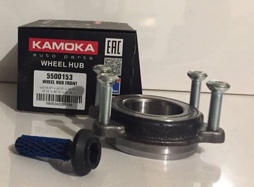 KAMOKA Ložisko predného kolesa Audi A4, A5, A6, A7, A8, Q5 - 4H0498625A